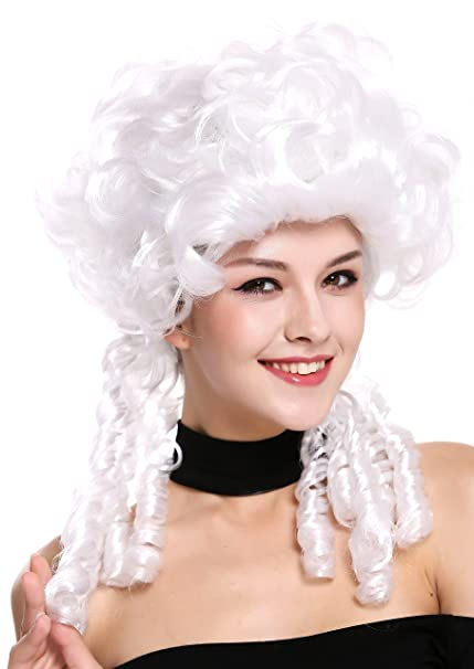 WIG ME UP ® - DH1009-ZA62 Peluca señoras Mujer Carnaval Barroco Renacimiento Romanticismo menina