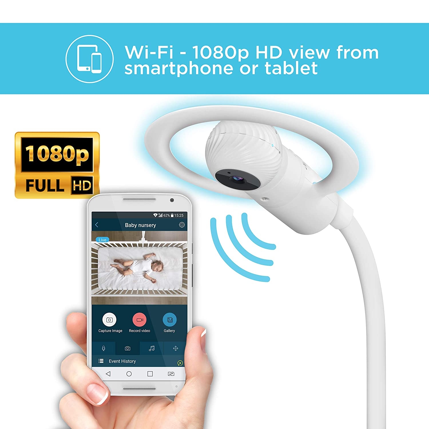 81jwHqsn8NL. SL1500 Best Baby Monitors 2021 Reviews: Buyer's Guide