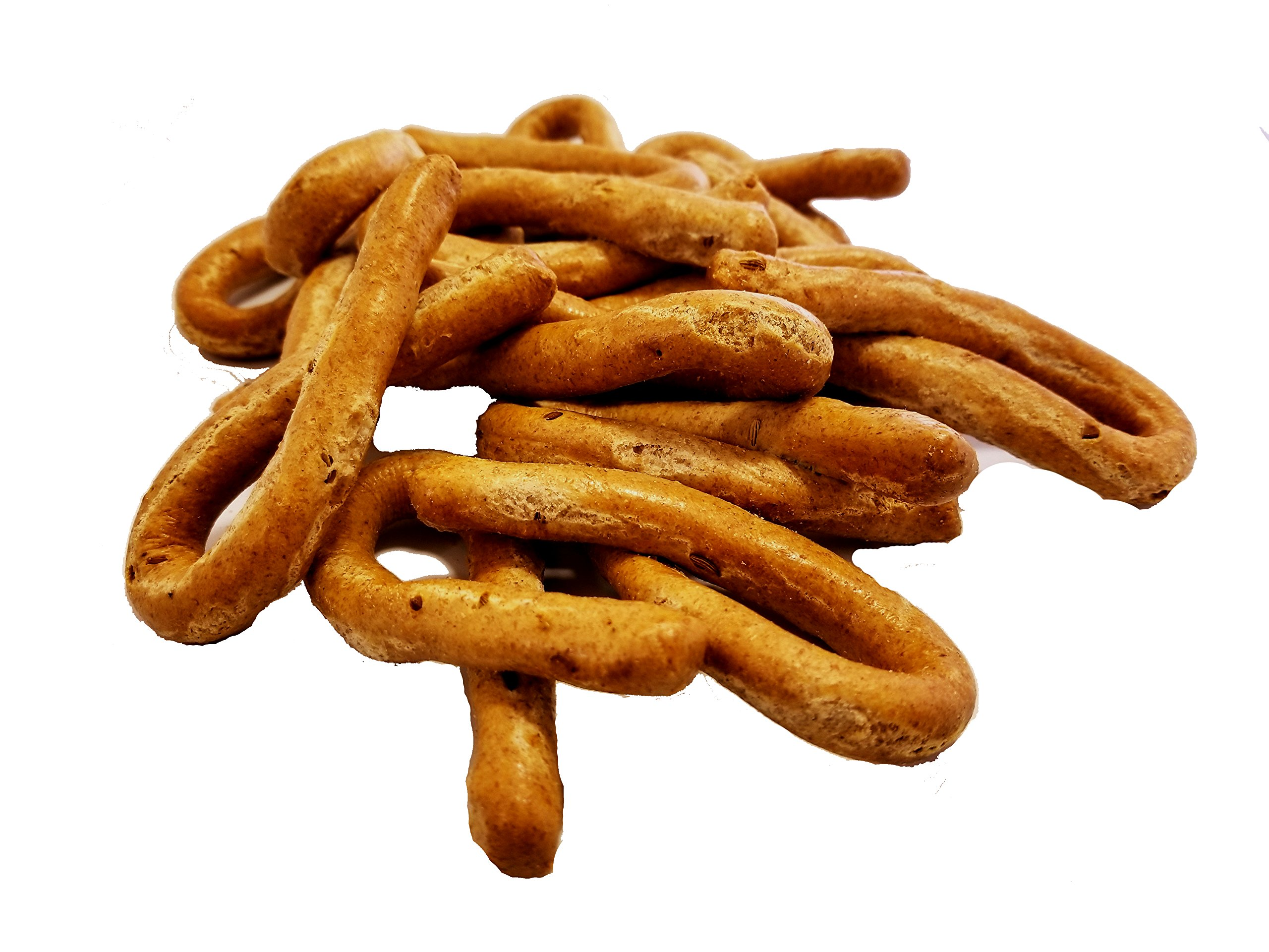 Frank and Sal Bakery - All Natural Whole Wheat Taralli with Fennel - Biscuit - 2 Pounds