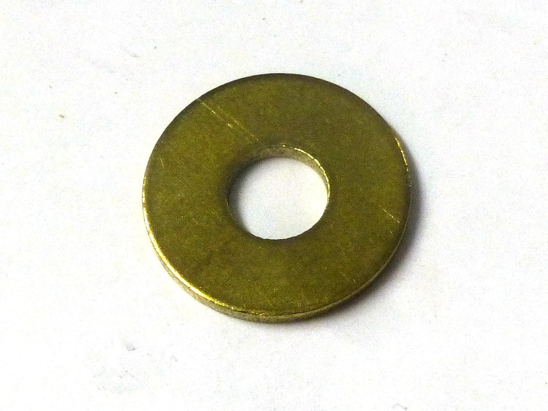 Minischrauben Sortiment inkl beschrifteter Box DIN 125A und DIN 9021 aus Messing Sortimentskasten mit 500 St/ück kleinen Scheiben und Muttern nach DIN 934