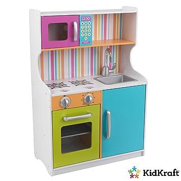 Kidkraft Spielzeug Kuche In Leuchtenden Farben Amazon De Spielzeug