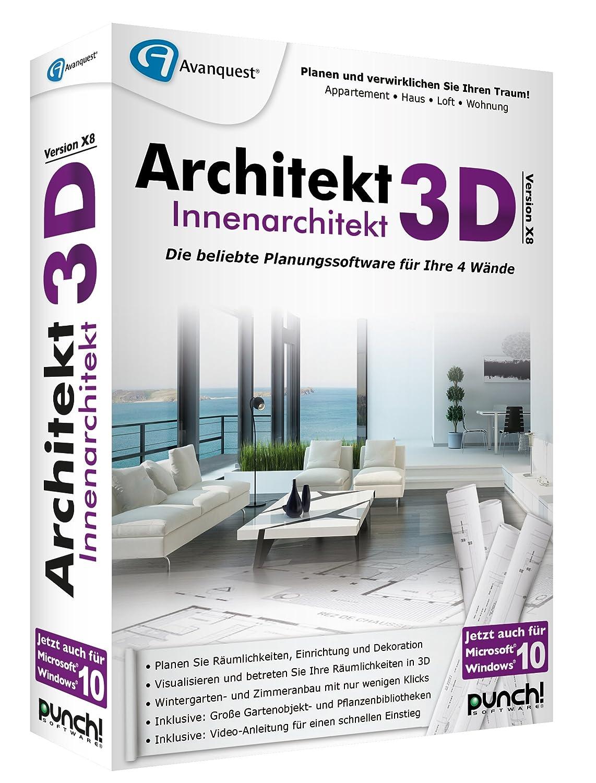 Architekt 3d X8 Innenarchitekt Amazonde Software