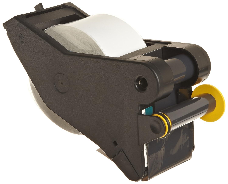 595 Indoor//Outdoor Vinyl Film Size 4 x 90   WHT//BLU 1PK Brady LabelizerPlus and VersaPrinter Tape Cartridge  B