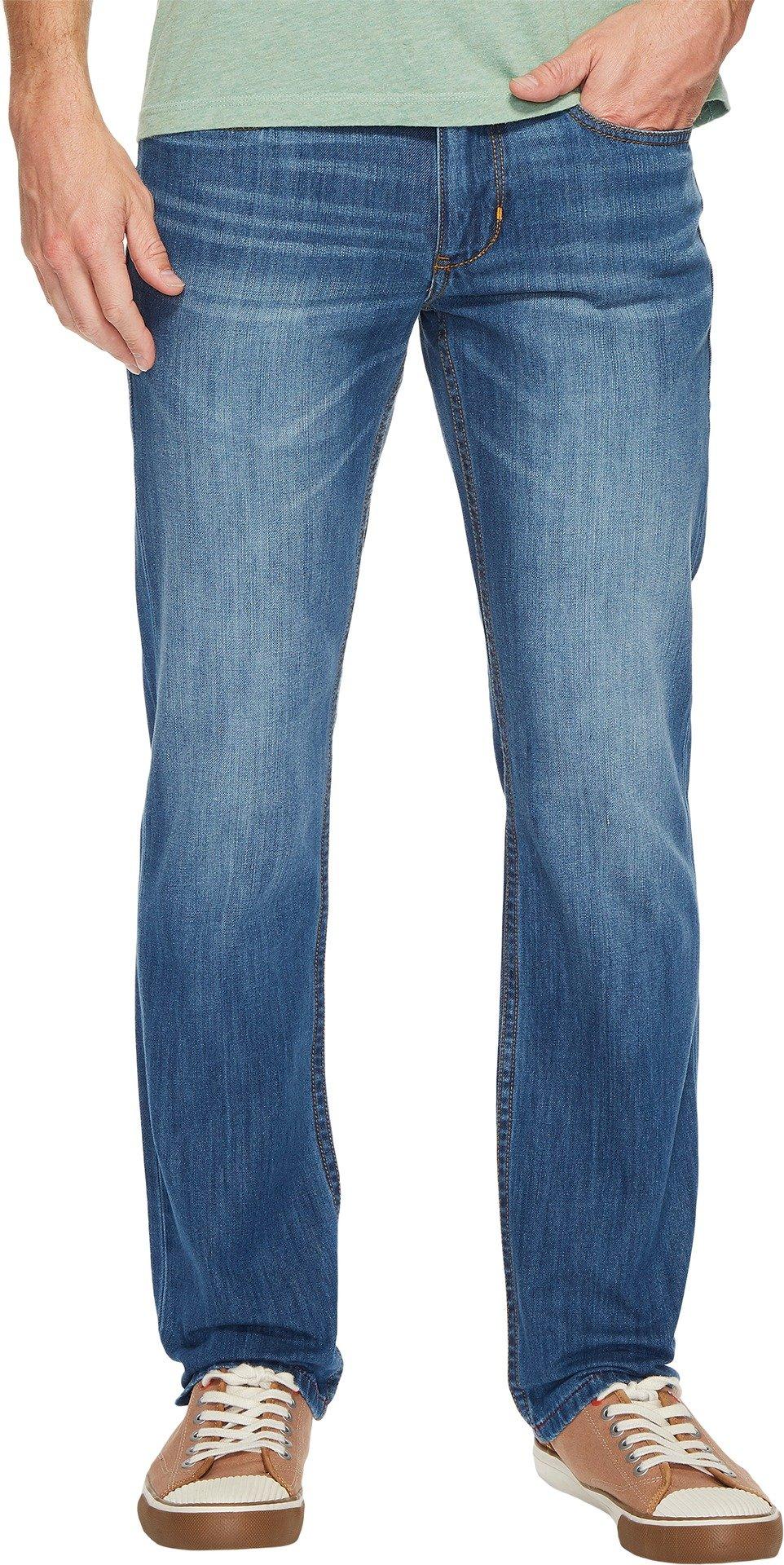 Tommy Bahama Men's Barbados Vintage Fit Jeans Light Indigo Wash 40W x 30L
