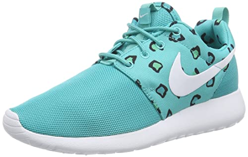 Nike WMNS ROSHERUN PRINT 599432 002 Donne Corsa Scarpe Da Ginnastica Misura UK 6 EUR 40