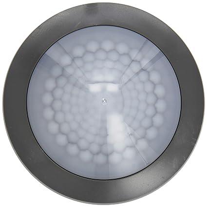 Theben Mova S360 KNX Ap GR Sensor de Movimiento para Techo de Montaje, y luz