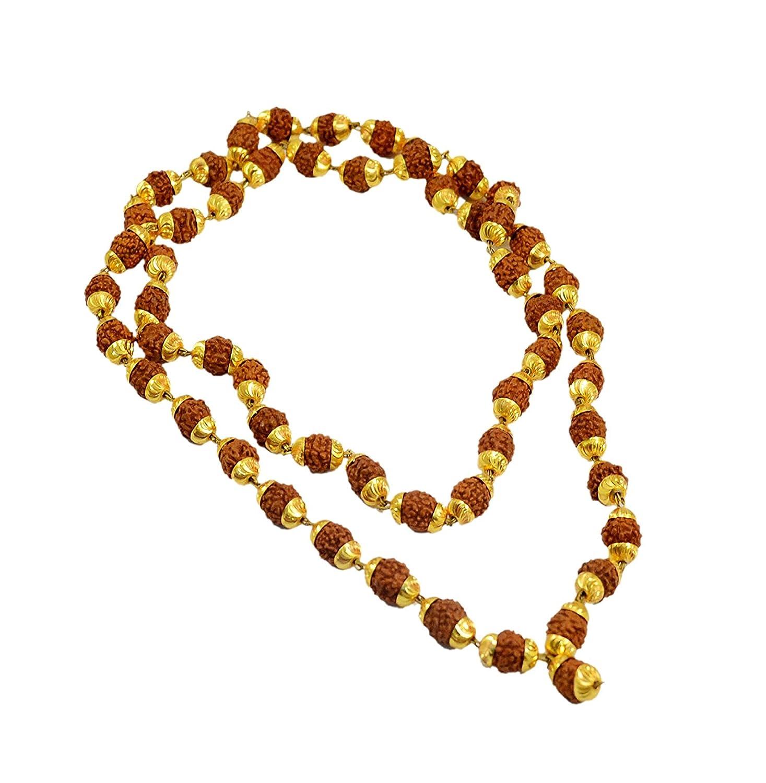 IndianStore4All Rudraksh Mala Beads Sacred Rudraksha Beads 5 ...