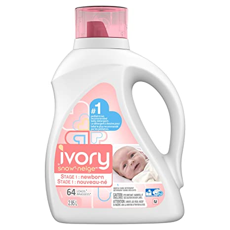 9cd73836293a Ivory Snow Stage 1  Newborn Hypoallergenic Liquid Baby Laundry ...
