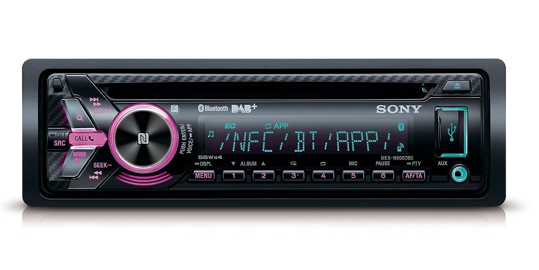 Sony MEX-N6002BD Ricevitore per Radio CD, Nero car audio sony; sintolettori sony; impianto audio sony; sony autoradio; Sony MEX-N6002BD; MEX-N6002BD; MEXN6002BD; N6002BD; N6002; 6002BD; MEXN6002; ; MEXN6002BD.EUR