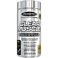 MuscleTech Clear Muscle Post Workout Recovery and Strength Builder, Amino Acid & Muscle Recovery Supplement, 168 Count