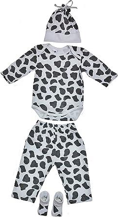 Amazon.com  Baby Clothing Set with Onesie-Pants-Hat-Socks-Newborn ... 42eeb5ed68e