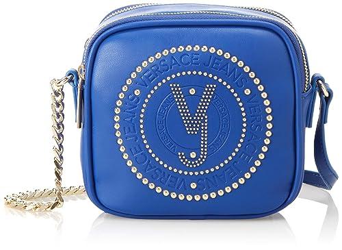 Versace Jeans - Pochette Da Giorno;donna, Carteras de mano Mujer, Azul (