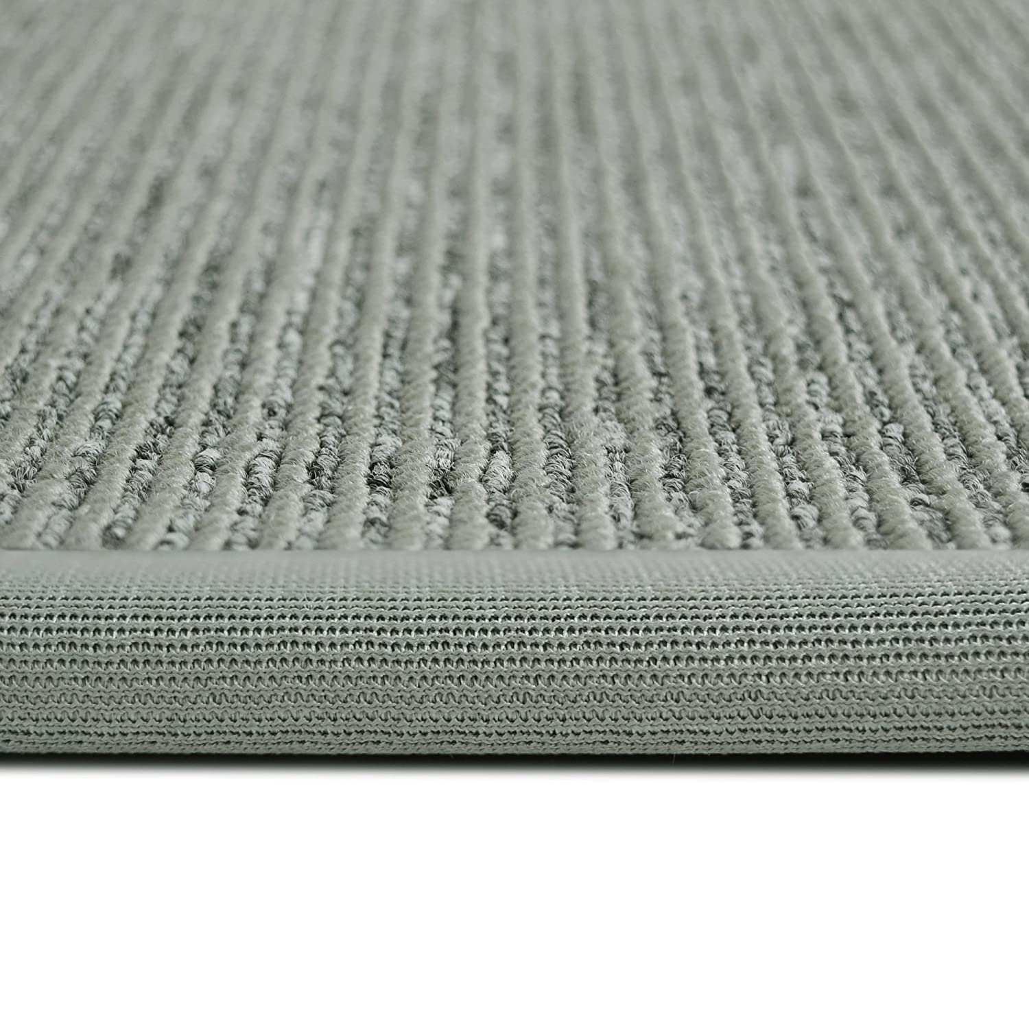 Amazon ICustomRug Zara Contemporary Synthetic Sisal Rug Softer Than Natural Stain Resistant Easy To Clean Beautiful Border In