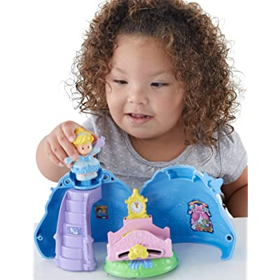 Fisher-Price Little People Disney Princess, Cinderella's Magical Dress: Toys & Games