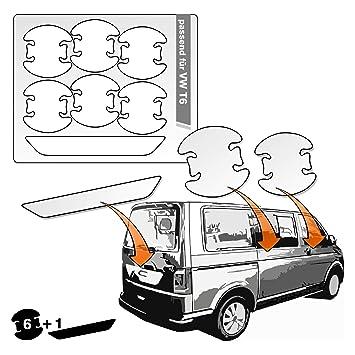 Schutzfolie in transparent passend f/ür Fahrzeug Modell Siehe Beschreibung Lackschutzfolie 150/µm transparent Ladekantenschutz Lackschutzshop