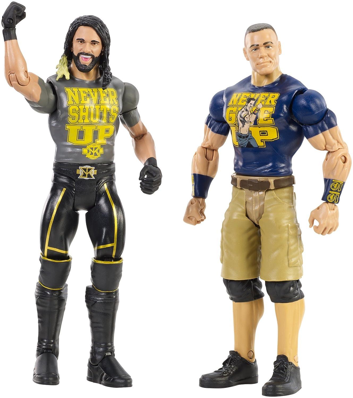 el mas reciente WWE-JOHN CENA Y Y Y SETH ROLLINS  salida para la venta