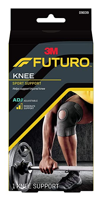 7407b418f5 Image Unavailable. Image not available for. Color: Futuro Sport Adjustable  Knee Support ...