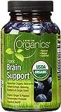 Irwin Naturals Organic Brain Support Diet Supplement, 60 Count