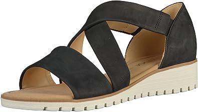 pretty nice 00376 3e406 Gabor - Damen Sandalen - Blau Schuhe in Übergrößen