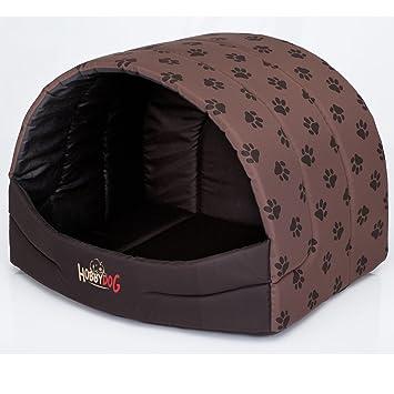 Hobbydog Prompter Perro Cama, tamaño 4, Color marrón con Patas impresión: Amazon.es: Productos para mascotas