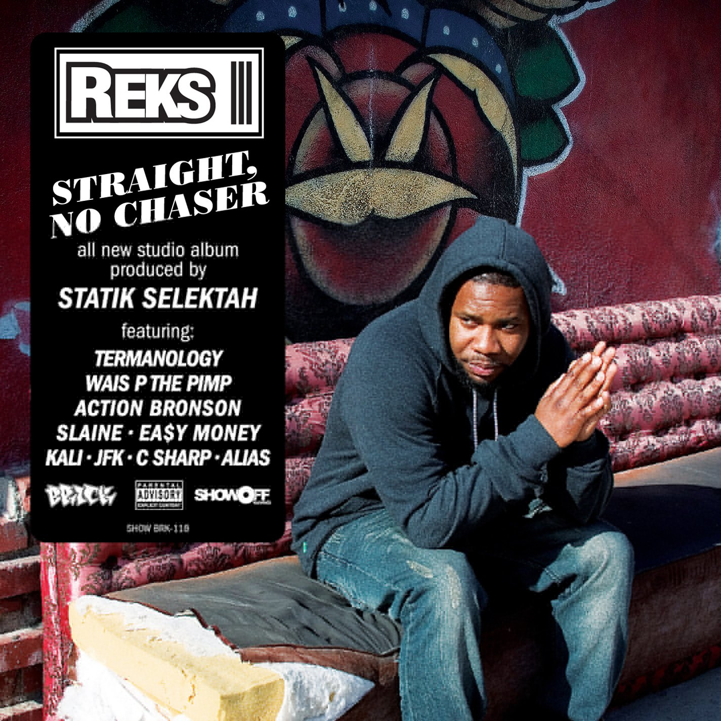 CD : Reks - Straight, No Chaser (CD)