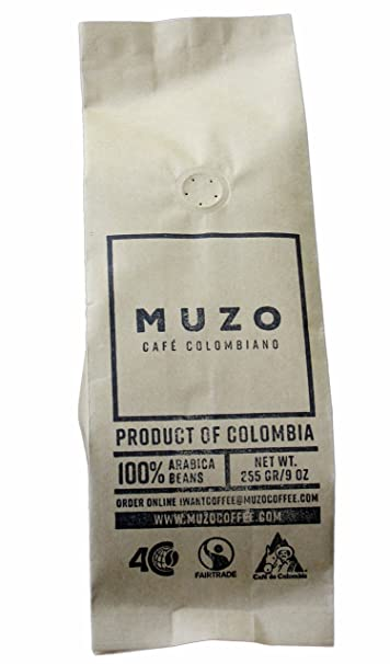 Amazon.com : MUZO COFFEE COFFEE BEANS WHOLE 9 OZ (2 POUNDS ...