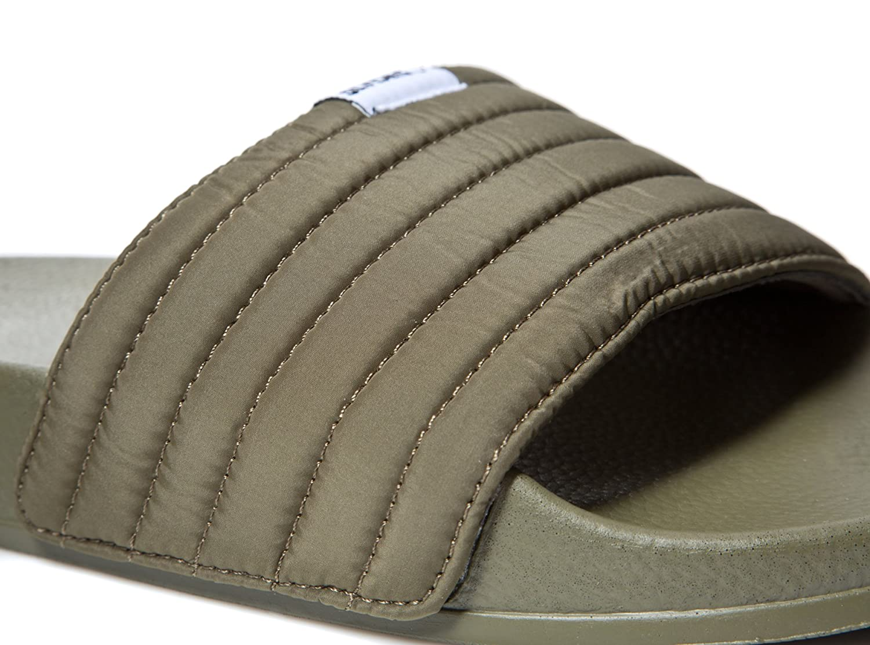Slydes SS18 West Khaki Mens Slider Sandals RRP $35