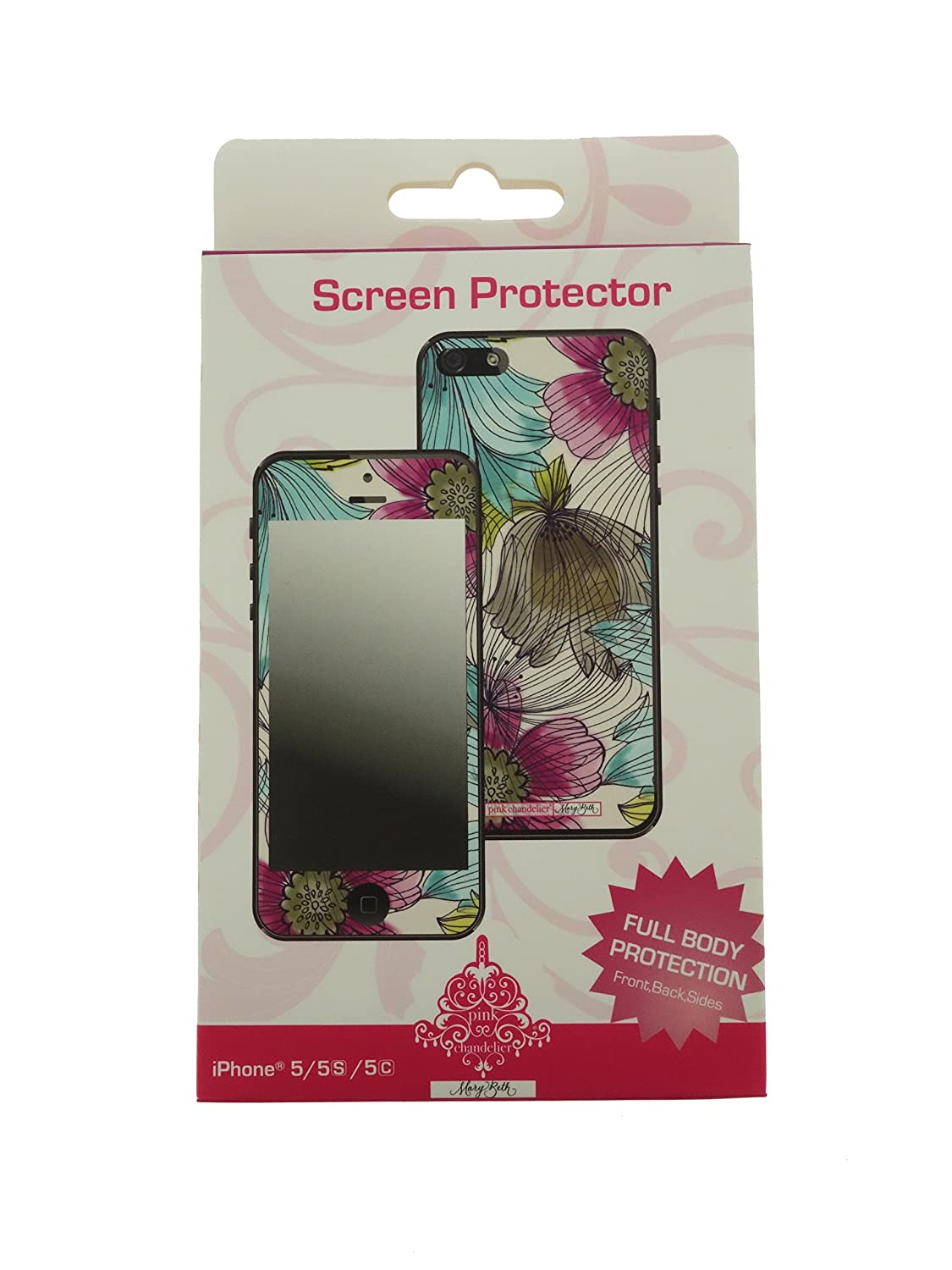 Com Pink Chandelier Iphone 5 5s 5c Screen Protector And Full Protection Owl Pattern Cell Phones Accessories
