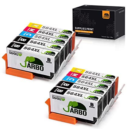 Jarbo - Cartuchos de tinta de reemplazo para HP 564XL, de ...