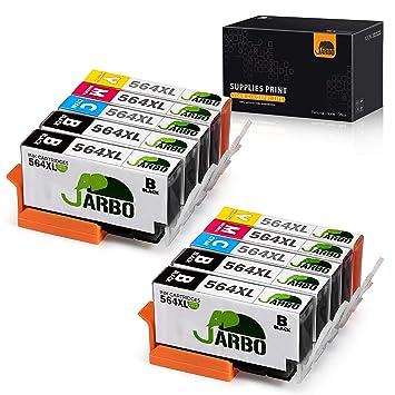 Jarbo - Cartuchos de tinta de reemplazo para HP 564XL, de alto ...