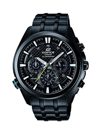 Edelstahl Casio Edifice Analog Quarz Armbanduhr Herren Xl Efr 537bk 1avef rsQdthC