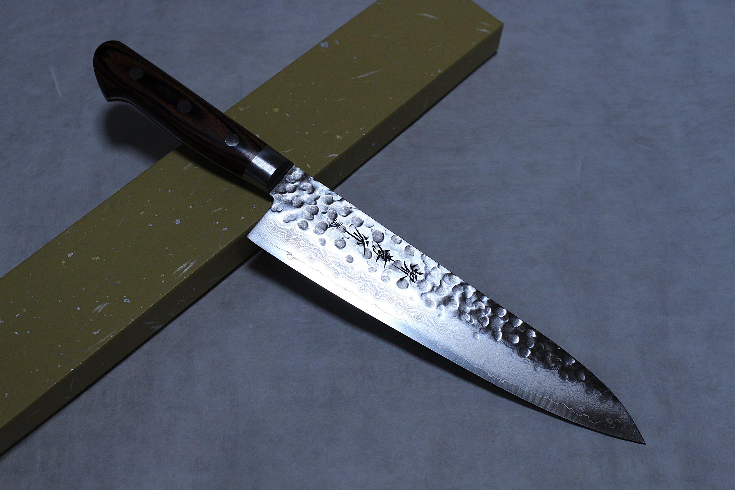 Sakai Takayuki 21 cm. Gyuto VG10 Hammered