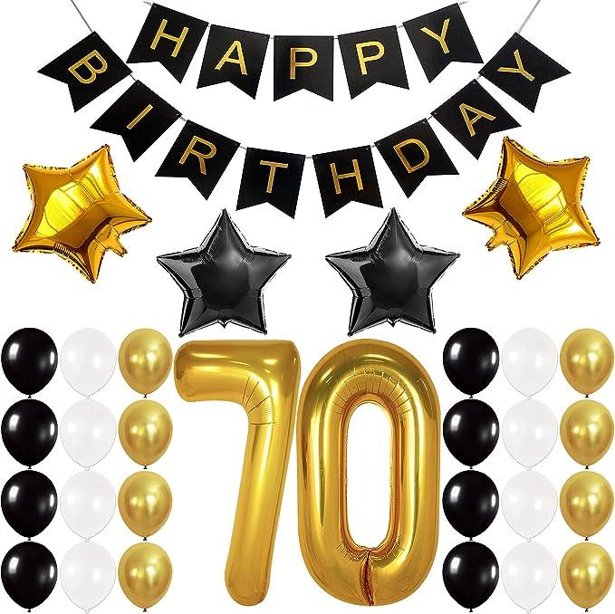 Seventieth Birthday Turning Seventy number 70 charm NAVY BEADS. Set of 6 70th Birthday themed Wine Charms