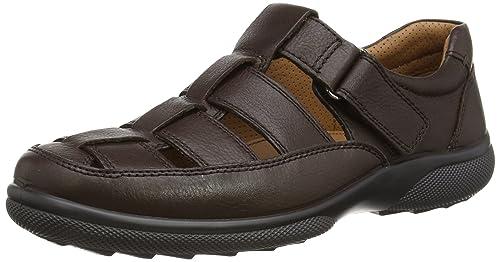 Hotter Men's Mersey Closed Toe Sandals, Brown (Brown), 6 UK 39 EU