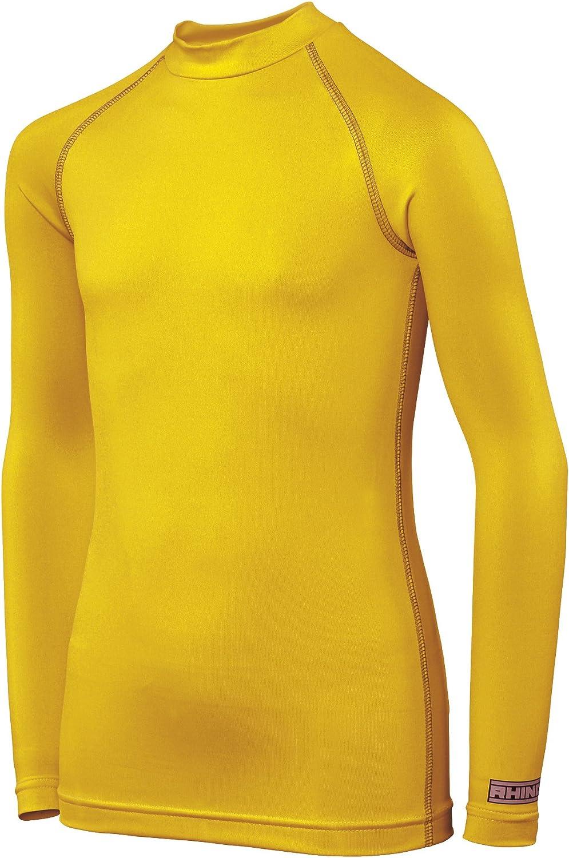 Rhino Childrens Boys Long Sleeve Thermal Underwear Base Layer Vest Top