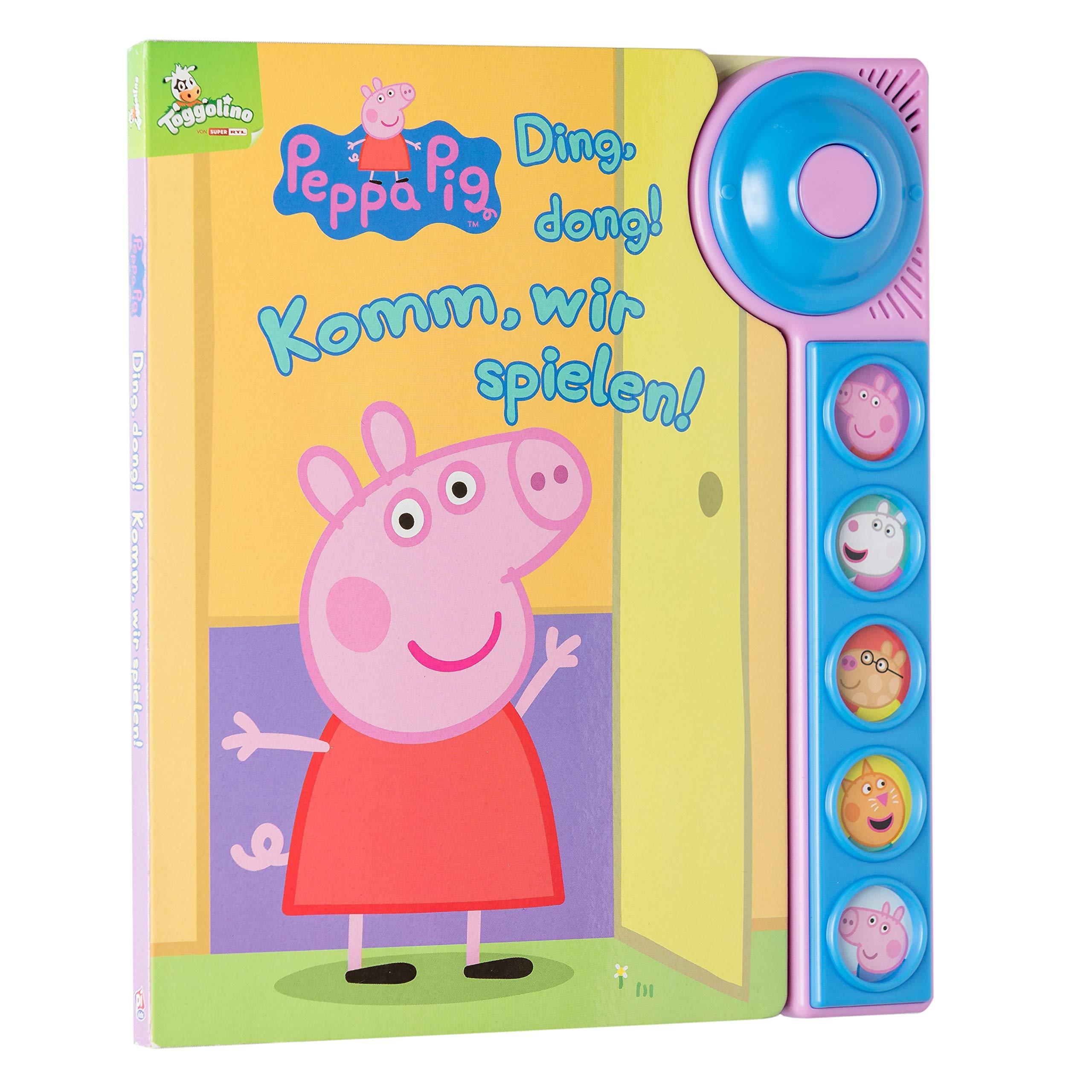 dong Ding Komm wir spielen! Soundbuch Peppa Pig