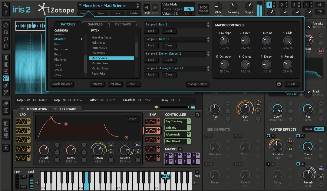 Iris 2: Virtual Instrument