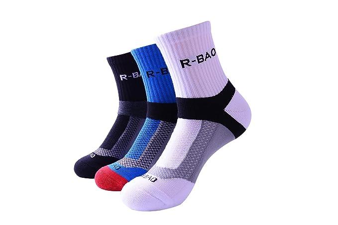 Beydodo Calcetines Baloncesto Calcetines Deporte Colorido Calcetines Algodón Calcetines Cortos Calcetines Deporte: Amazon.es: Ropa y accesorios