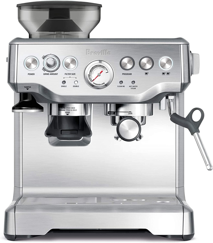Breville BES870XL Barista Express Espresso Machine $599.95 Coupon