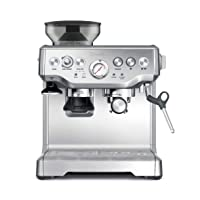 Breville BES870XL Barista Express Espresso Machine, Brushed Stainless Steel, Large