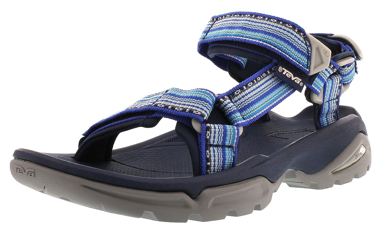 Teva Terra Fi 4 Ws Damen Sport-  Outdoor Sandalen  36 EU Blau (La Manta Bright Blue 538)