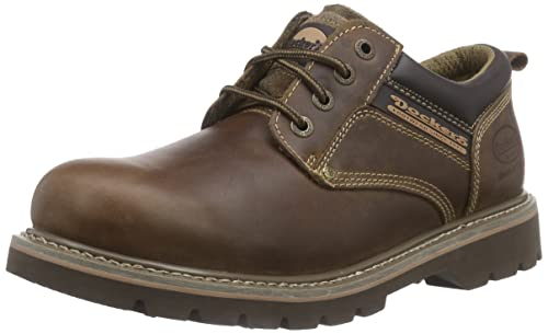 Dockers 23DA005 - Zapatos de cordones de cuero para hombre, color marrón (desert 460), talla 40: Amazon.es: Zapatos y complementos