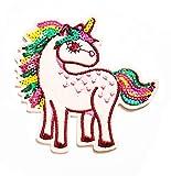 Nipitshop Patches Cute Little Pink Unicorn Horse