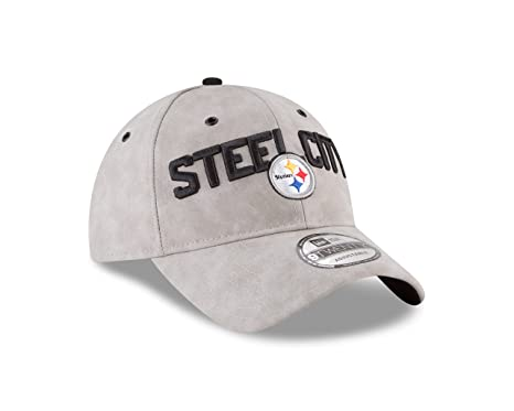 47ec6beee Image Unavailable. Image not available for. Color  New Era Pittsburgh  Steelers NFL 2018 ...