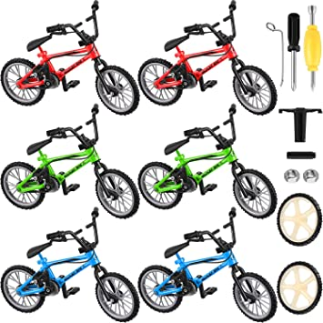 6 Paquetes Bicicletas Dedo Bicicletas de Montaña Mini de Dedo con ...