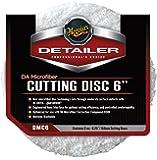 """Meguiar's DMC6 6"""" DA Microfiber Cutting Disc, (Pack of 2)"""