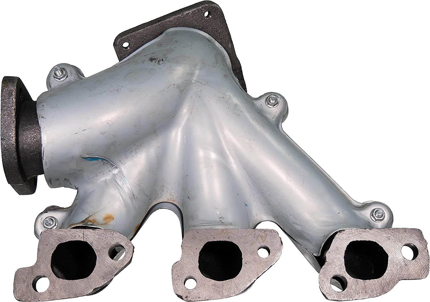 APDTY 133951 Exhaust Manifold Cast Iron Assembly Fits Rear Of Engine Bay on 3.3L or 3.8L V6 2008-2010 Dodge Grand Caravan or Chrysler Town /& Country Replaces Mopar 4666084AC, 04666084AC