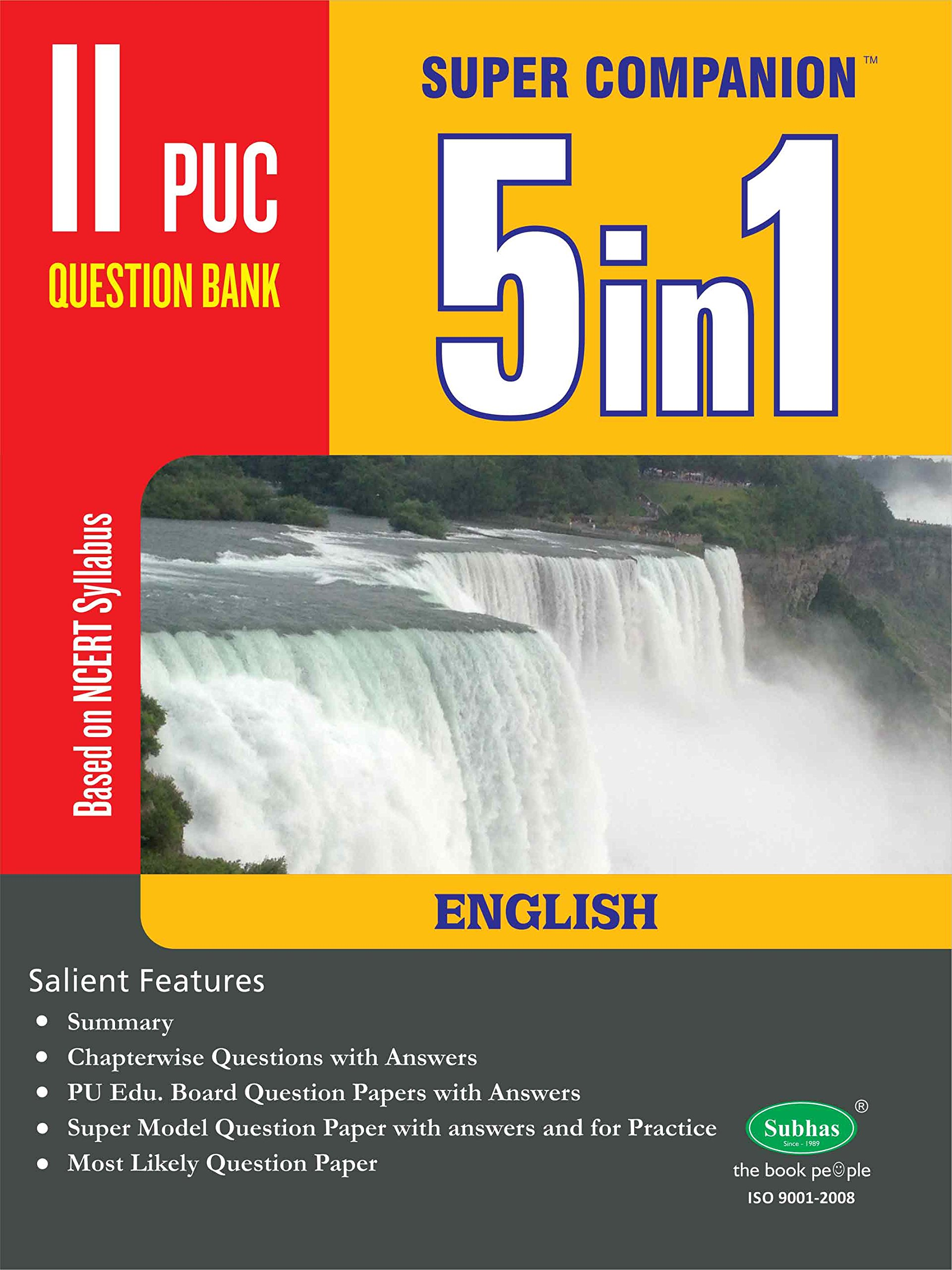 Buy 5 In One 2nd Puc English Book Online at Low Prices in India | 5 In One  2nd Puc English Reviews & Ratings - Amazon.in