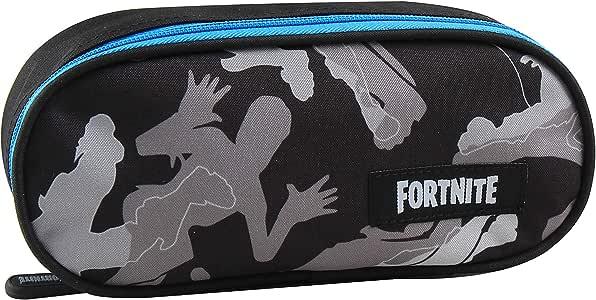 Fortnite XL Grey Edition - Estuche (22,5 x 9,5 x 5 cm), color gris: Amazon.es: Oficina y papelería