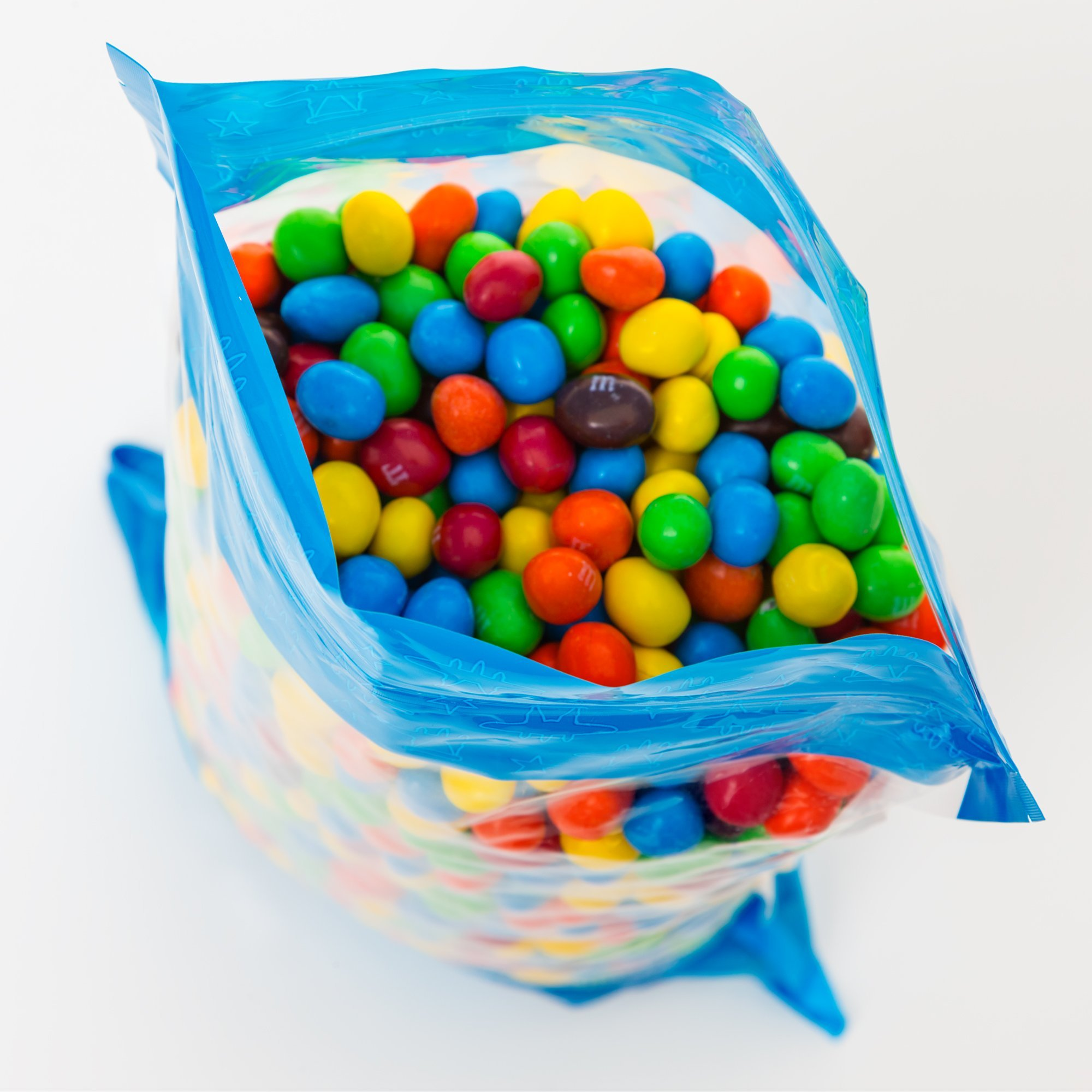 Bulk Peanut M&Ms in Resealable Bomber Bag, Wholesale Chocolate & Peanut Candy (5lb Bag) by Fast Fresh Nuts (Image #4)